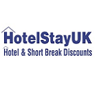 HotelStay UK testimonial and logo