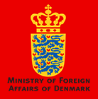 Ministry of Foreign Affairs of Denmark logo