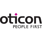 Oticon case study and logo