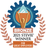 Bronze Stevie award for Great Employers